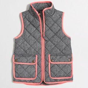 Crewcuts J. Crew Herringbone Quilted Puffer Vest